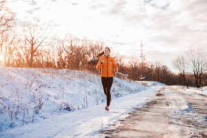 courir hiver